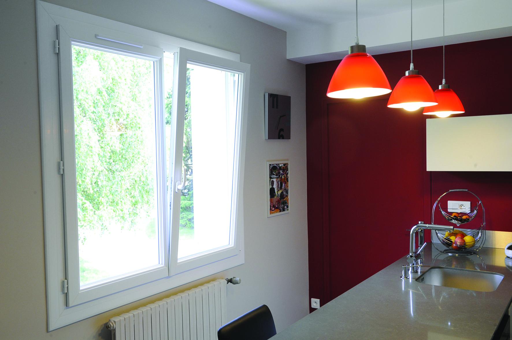 Fenêtre PVC blanc Eclea